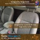 Toyota Hilux Neoprene Seat Covers (TH05)f-01