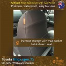 Toyota Hilux Neoprene Seat Covers (TH05)l-01