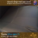 Toyota Hilux Neoprene Seat Covers (TH09)d2-01