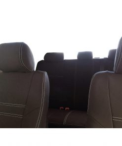 Custom Fit, Waterproof, Neoprene Toyota Hilux MK.7 - Sprots FULL-BACK Front & REAR Seat Covers.