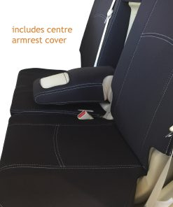 Custom Fit, Waterproof, Neoprene Toyota Prado J150 Full-back REAR Seat Cover.