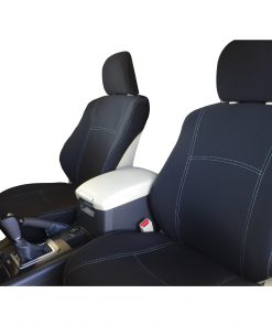 Custom Fit, Waterproof, Neoprene Toyota Prado J150 FRONT Seat Covers.