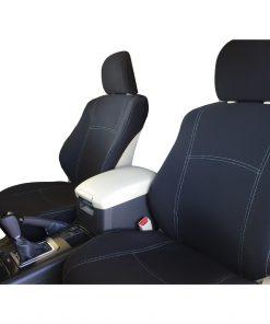 Custom Fit, Waterproof, Neoprene Toyota Prado J150 FRONT Seat Covers.