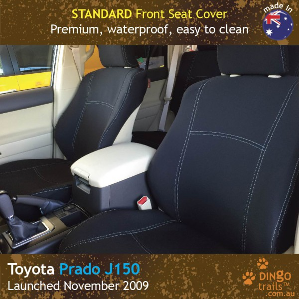 Neoprene FRONT Seat Covers for Toyota Prado J150