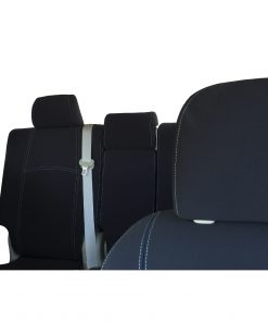 Custom Fit, Waterproof, Neoprene Toyota Prado J150 FULL-BACK Front & REAR Seat Covers.