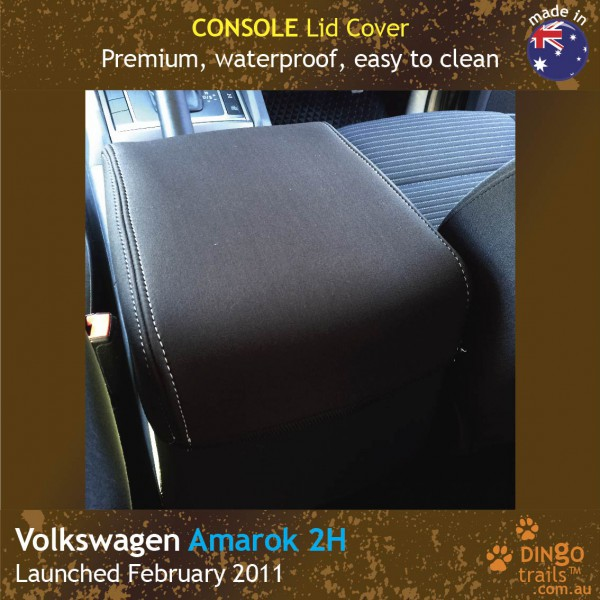 Neoprene CONSOLE Lid Cover for Volkswagen Amarok 2H