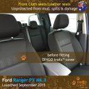 dingotrails.com.au Ford Ranger PX Prix Edition Neoprene Seat Covers (FR15-P)e-01