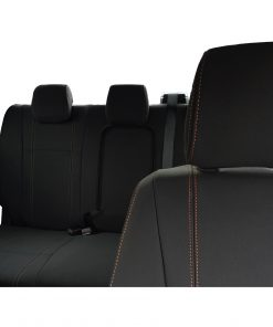 Custom fit, waterproof neoprene Ford Ranger PX Front Seat Covers and Rear Seat Cover.