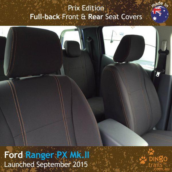 dingotrails.com.au Ford Ranger PX Prix Edition Neoprene Seat Covers (FR15-P)q-01