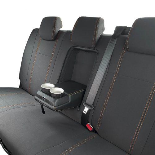 Custom fit, waterproof neoprene Ford Ranger Rear seat cover