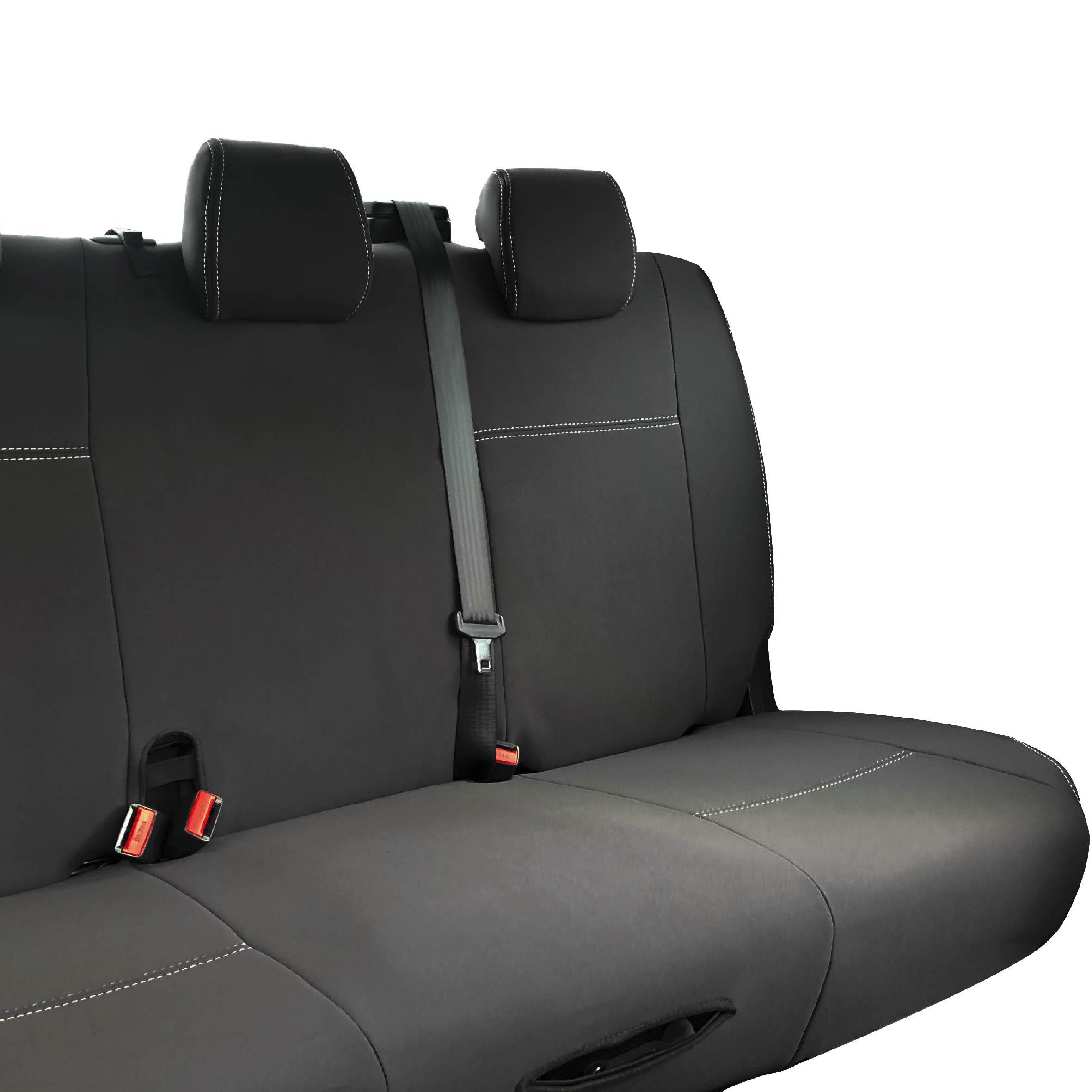 Custom fit, waterproof, neoprene Ford Ranger PX Rear Seat Cover.