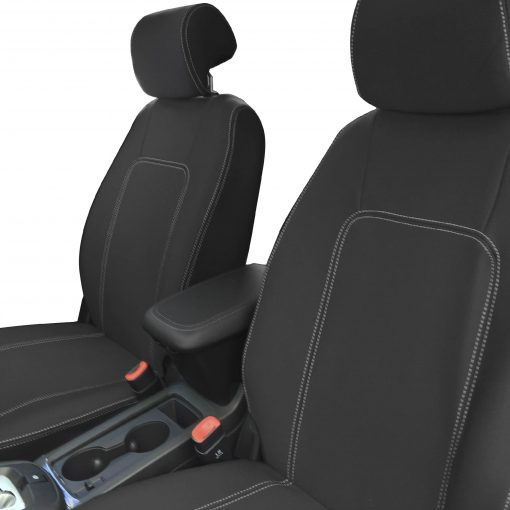 Custom Fit, Neoprene, waterproof Holden Captiva 5 CG2 FULL-BACK Front Seat Covers.