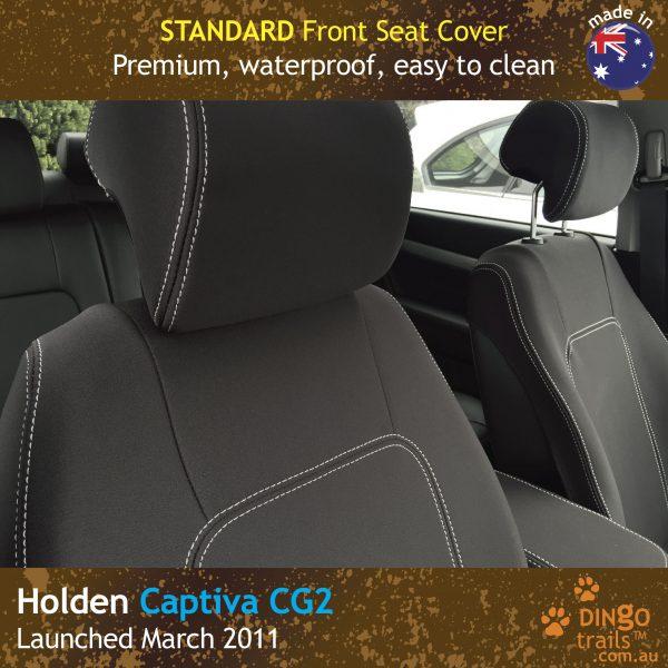 Neoprene FRONT Seat Covers for Holden Captiva 5 CG2