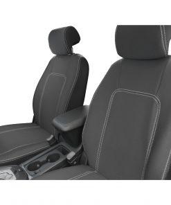 Custom Fit, Neoprene, waterproof Holden Captiva 5 CG2 FULL-BACK Front Seat Covers.