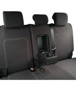 Custom Fit, Neoprene, waterproof Holden Captiva 5 CG2 FULL-BACK Rear Seat Covers.