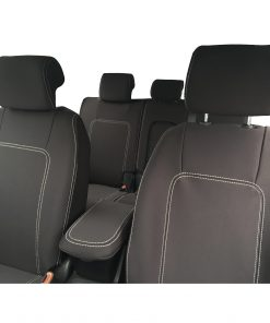 Custom fit, waterproof, neoprene Holden Captiva 5 CG2 FULL-BACK Front & REAR Seat Covers