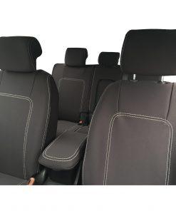Custom fit, waterproof, neoprene Holden Captiva 5 CG2 FULL-BACK Front & REAR Seat Covers