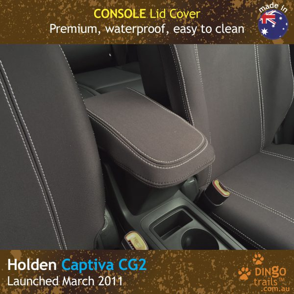 Neoprene Center Console Lid Cover for Holden Captiva CG2
