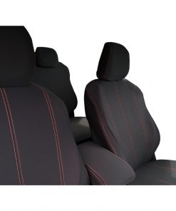 Custom Fit, Neoprene, waterproof Holden Colorado RG Front Seat Covers (PRIX Edition).