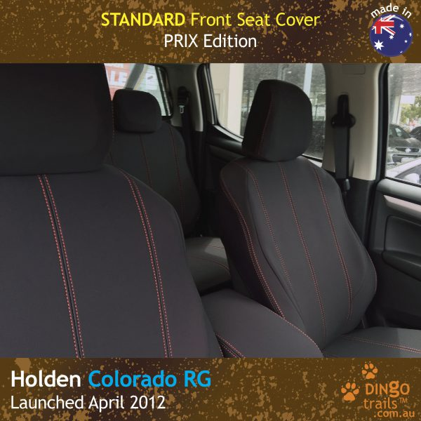 Neoprene Front Seat Covers for Holden Colorado RG