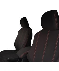 Custom Fit,waterproof, neoprene Holden Colorado RG Full-Back Front Seat Covers (PRIX Edition).