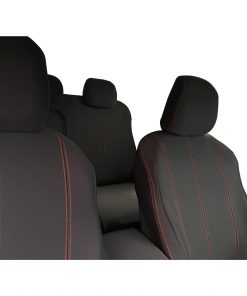 Custom Fit, waterproof, Neoprene ISUZU D-Max RC FULL-BACK Front Seat Covers. (PRIX Edition).