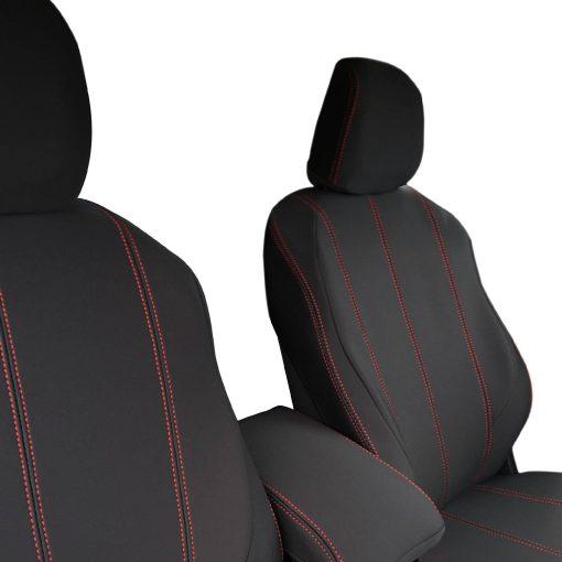 Custom Fit, Neoprene, waterproof Holden Colorado RG Front Seat Covers (PRIX Edition).