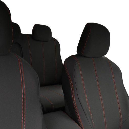 Custom Fit, waterproof, Neoprene Holden Colorado RG FRONT & REAR Seat Covers (PRIX Edition).