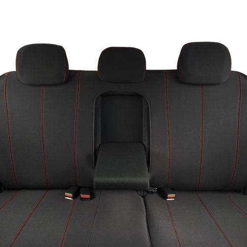 Custom Fit, waterproof, neoprene Holden Colorado RG Rear Seat Cover (PRIX Edition).