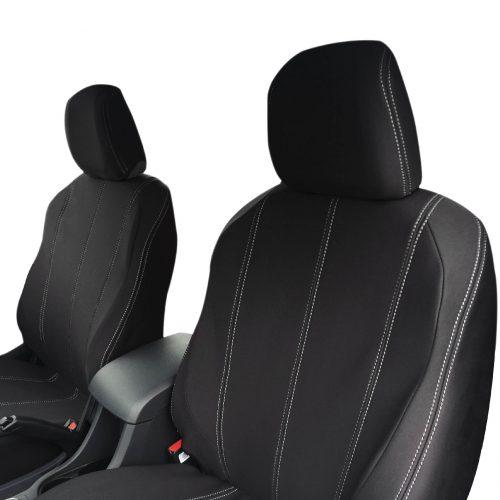 Custom Fit, waterproof, neoprene Holden Colorado 7 RG Full-Back Front Seat Covers.
