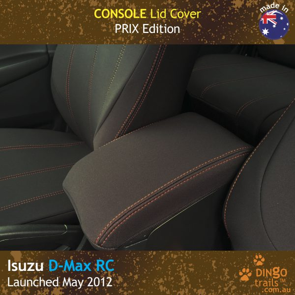 Neoprene CONSOLE Lid Cover for ISUZU D-Max RC