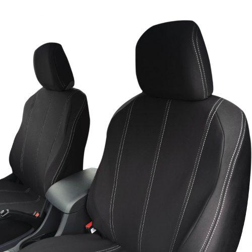 Custom Fit, waterproof, Neoprene ISUZU D-Max RC FULL-BACK Front Seat Covers