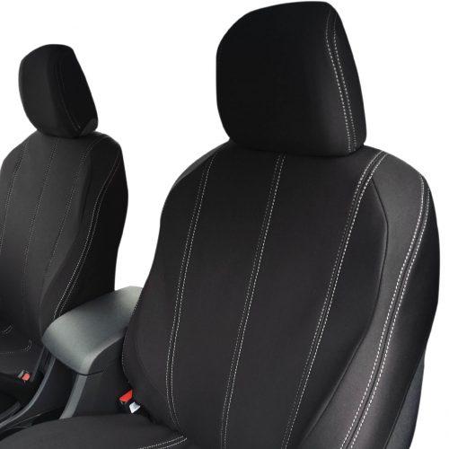 Custom Fit, waterproof, Neoprene ISUZU D-Max RC FRONT Seat Covers.