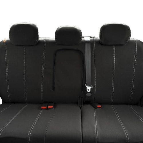 Custom Fit, waterproof, Neoprene ISUZU D-Max RC REAR Seat Cover.