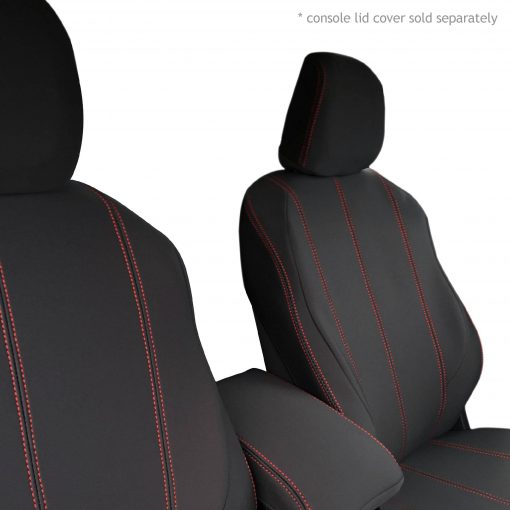 Custom Fit, waterproof, Neoprene ISUZU D-Max RC FRONT Seat Covers (PRIX Edition).
