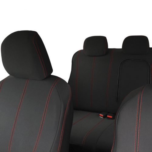 Custom Fit,waterproof, neoprene ISUZU -D Max RC FULL-BACK Front & REAR Seat Covers (PRIX Edition).