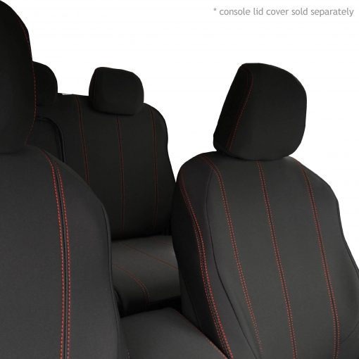Custom Fit, waterproof, neoprene ISUZU D-Max RC FRONT & REAR Seat Covers (PRIX Edition).