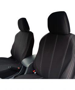 Custom Fit, waterproof, neoprene ISUZU MU-X FRONT Seat Covers.