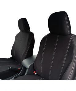 Custom Fit, waterproof, neoprene ISUZU MU-X FULL-BACK Front Seat Covers.
