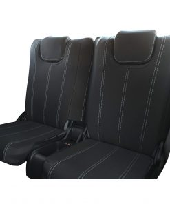 Custom fit, waterproof, neoprene ISUZU MU-X Full-back THIRD ROW Seat Covers.