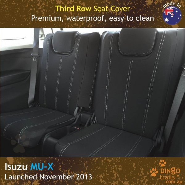 Neoprene Full-back THIRD ROW Seat Covers for ISUZU MU-X