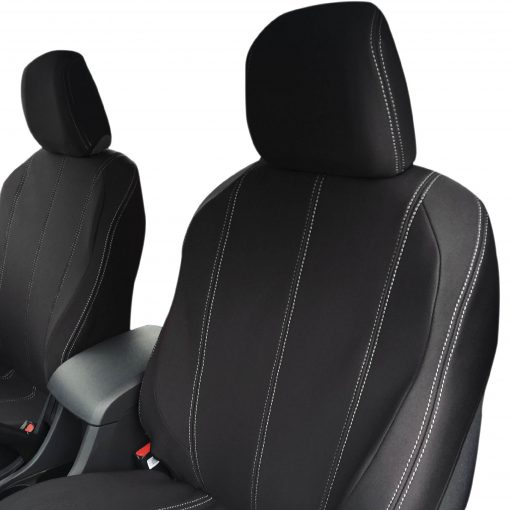 Custom Fit, waterproof, neoprene ISUZU MU-X FRONT Seat Covers.