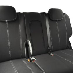 Custom Fit, waterproof, neoprene ISUZU MU-X Full-back REAR Seat Cover.