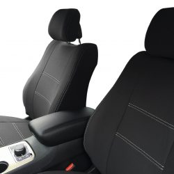 Custom Fit, waterproof, neoprene Jeep Grand Cherokee FULL-BACK Front Seat Covers.