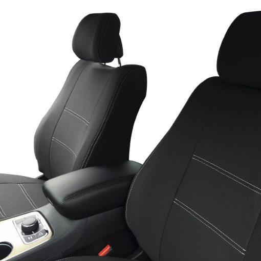 Custom Fit, waterproof, neoprene Jeep Grand Cherokee FULL-BACK Front Seat Covers.