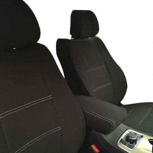 Custom Fit, waterproof, neoprene Jeep Grand Cherokee FRONT Seat Covers.