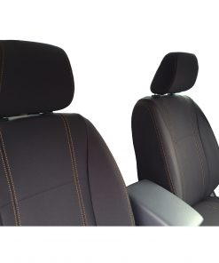Custom Fit, waterproof, neoprene Mazda BT-50-UR FULL-BACK Front Seat Covers (PRIX Edition).