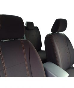 Custom Fit, waterproof Neoprene Mazda BT-50-UR FULL-BACK Front & REAR Seat Covers (PRIX Edition).