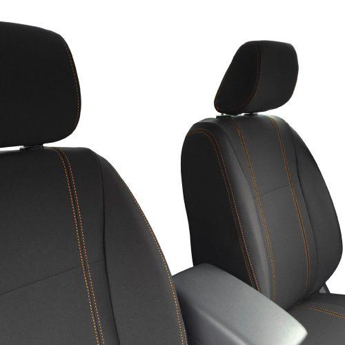 Custom Fit, waterproof, neoprene Mazda BT-50-UR FULL-BACK Front Seat Covers (PRIX Edition).