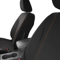 Custom Fit, waterproof, neoprene Mazda BT-50-UR FRONT Seat Covers (PRIX Edition).